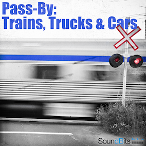 This sound pack is a composite collection of passing by (Suburban-, Passenger-, Freight-) Trains, Trucks and Cars that I recorded throughout the year 2016 on various freeways and railroads.