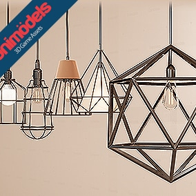 22 Pendant lights for interior and exterior scenes