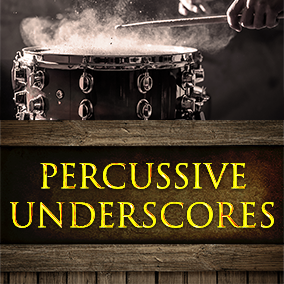 This pack provides you 13 tense high-quality percussive loops, which are mixed and mastered professionally. Reverb tail for each track also included!