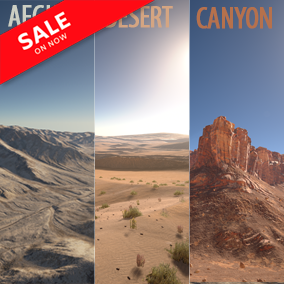"""This set """"Photorealistic Landscape Pack 3"""" includes highly detailed 64 km2 (8x8 km)."""