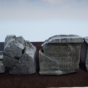 13 Historical Stone of the Old Greece , highest quality of photoscan models ready to use in your project.