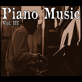 The Piano Music Vol. III pack focuses on beautiful and melancholic music featuring the sound of a vintage grand piano.