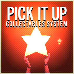 Easy to implement Blueprint system for collectables and pickups