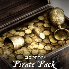 A collection of pirate assets for your environments.