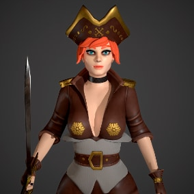 Low poly model for Game