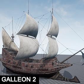 Pirates Galleon 2