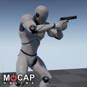 Content by MoCap Online - UE4 Marketplace