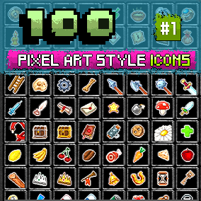 Pixel Art Resources Icon