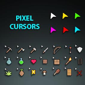 91 pixel cursors