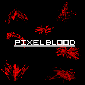 Amazing Pixel Blood Flipbooks and Decals ! Can be used in 2D or 3D projects!