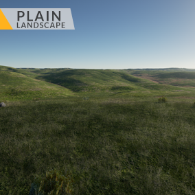This content includes highly detailed 16 km2 (4x4 km) Plain landscape.