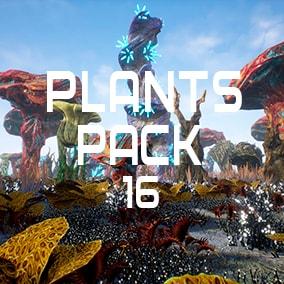 Unique plants for a fantasy world