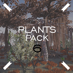 A set of plants for creating fantastic worlds.