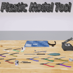 Plastic Model Tool is a tool for 23 kinds of plastic model
