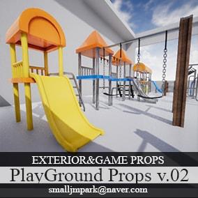 PlayGround Equipment Props v.02