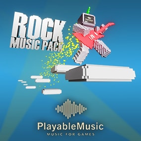Pack with music from several sub genres of the rock genre.