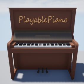 Playable Piano in your own game!