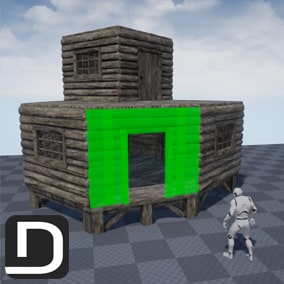 Player Build System V2 is the new, fast and easy way to add multiplayer building to your game!