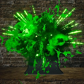 Poison Explosion Pack 01
