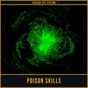 Poison Skill Vfx Pack