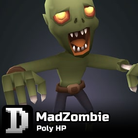 Poly HP asset to give you a quick start in building your own little monster