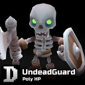 Poly HP assets to give you a quick start in building your own character