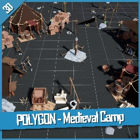 A low poly asset pack of Buildings, Vehicles and Props assets.