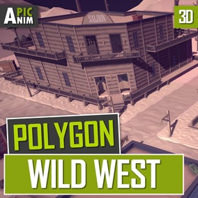 We present to you a huge selection of items for creating a world in the style of the wild west.