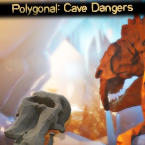 A low-poly styled, Ice-Age themed asset pack for the Unreal Engine revolving around Ice-Age caverns and hints to a treacherous past era.