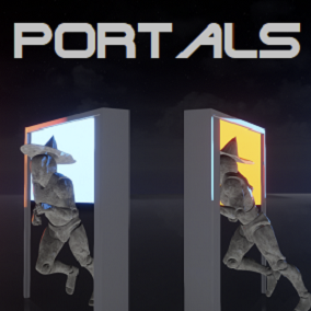 Connect two spacial locations with a portal