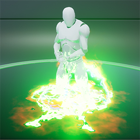 Warp your models through a portal with these particle effects.