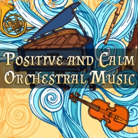 Orchestral background music and title themes.