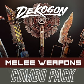 A collection of melee weapons that can be used for games!