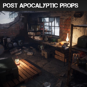34 AAA quality assets to help you make that Post Apocalyptic game you've always wanted!