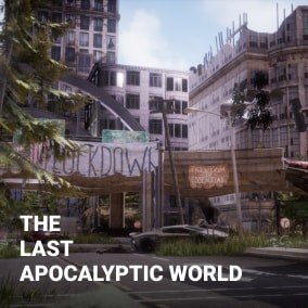 The Post Apocalyptic World Pack has over 100 uniquely crafted assets allowing you to create vast open worlds or detailed linear levels