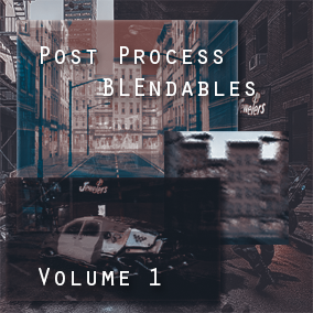 Post Process Blendables Volume 1 is a pack of 44 post process materials to give a variety of effects in your game.