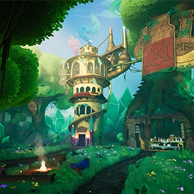 A large collection of stylized assets to build awesome environments!
