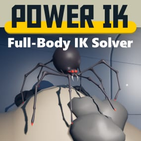 Power IK is a full-body IK solver with built-in ground alignment.