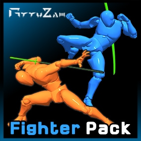 Fighter Stylish Action Animation for Action RPG & Roguelike Game.