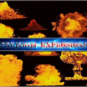Premium Explosions SFX.