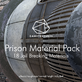 A pack of 18 Prison themed Materials built specifically for Unreal by the pros at GameTextures.