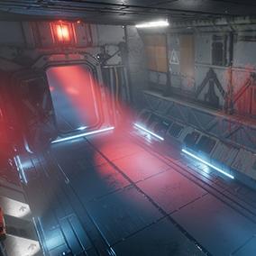 Pro-TEK Modular Sci-Fi Horror Corridor is the second piece of an essential pack!