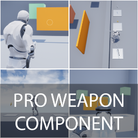 This is full replicated Weapon Component which includes a lot of functionality for beginners, to fast create game what you want