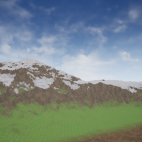 Quick and easy runtime procedural generation in UE4! Some Materials knowledge required.