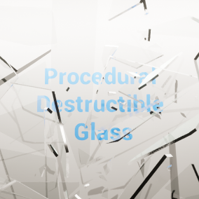 A procedural glass fracturing system that works in real time and supports custom meshes. With parameters setup to customize the fracturing of the mesh.