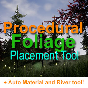 This tool allows you to procedurally populate your scene with foliage in a matter of seconds. The tools allows for extensive configuration, including slope and height ranges, obstacle avoidance, and 8 different spawning methods to meet all your needs.