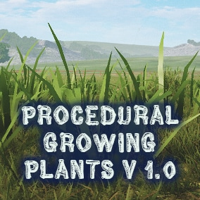 """Procedural Growing Plants"" helps you to create procedural plants with custom parameters at your level. Plus, plants have an interaction zone, and you can do whatever you want."