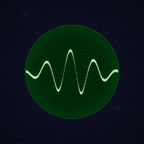 Oscillator, EKG, Radar display procedural material.