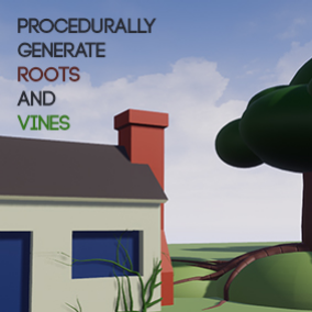 This tool procedurally creates roots and vines