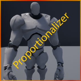 Proportionalizer makes proportion adjustments to character models easy, extending their customization and useability.